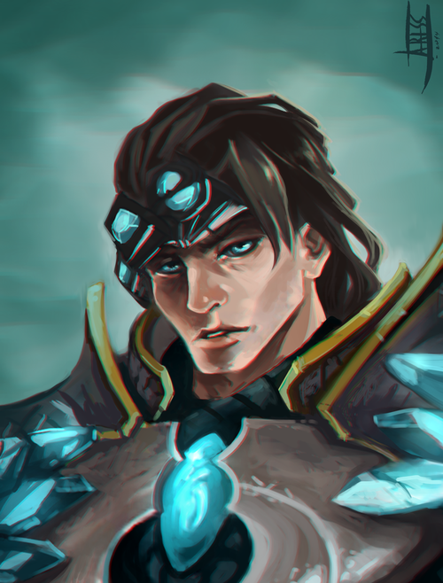 league_of_legends__fan_art_taric_by_ariss18-d88hafy