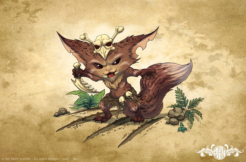 gnar_leopard___league_of_legends_by_o0dzaka0o-d7zb80j