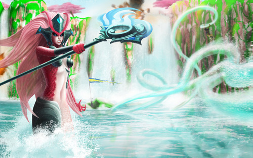 league_of_legends___koi_nami_under_attack_by_zarory-d6w8y9o