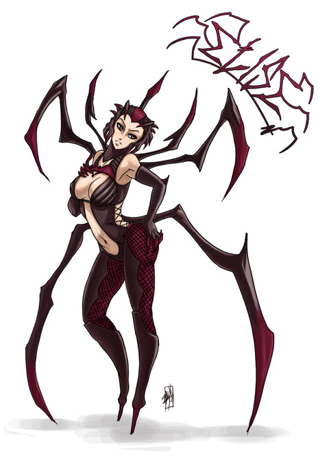 elise__the_spider_queen_by_myth1c-d5lg45c