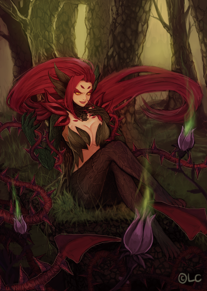 _league_of_legends__zyra_by_kyribee-d7nnoum