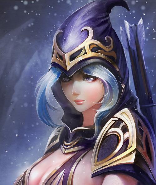 Ashe-League-of-Legends-Fan-Art-221215