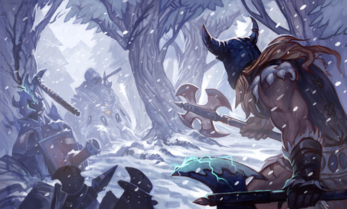 league_of_legends_digiart_contest__olaf_by_somnicide-d5uj8pb