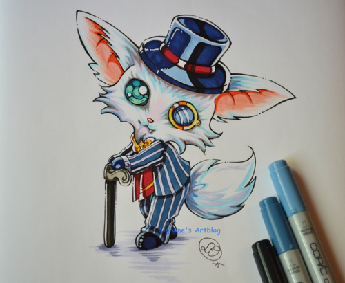 gentleman_gnar_by_lighane-d8yk2fv
