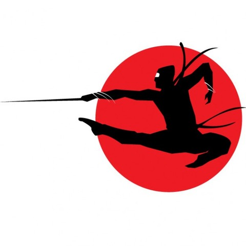 ninja-silhouette-on-red-circle-background_91-2147487481