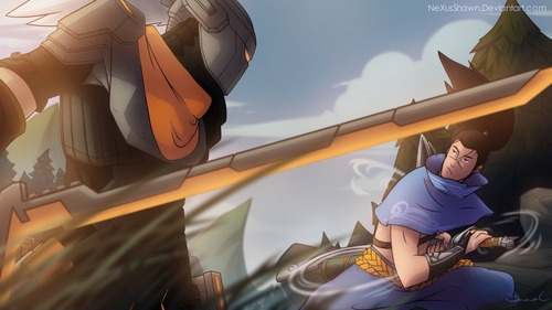 classic_yasuo_vs_project_yasuo__finished__by_nexusshawn-d8uo8c6