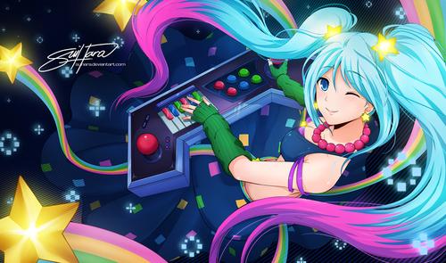 arcade_sona_by_suihara-d6lhfcl