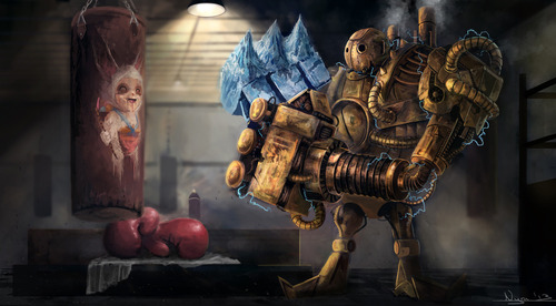 Blitzcrank-League-Of-Legends-Fan-Art-4