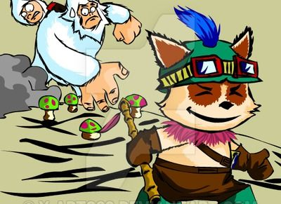 teemo_vs_nunu__lol__by_y_arts89-d76ecx2