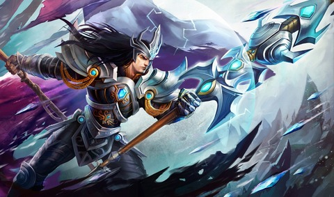 League-of-Legends-Victorious-Jarvan-In-War-Wallpaper