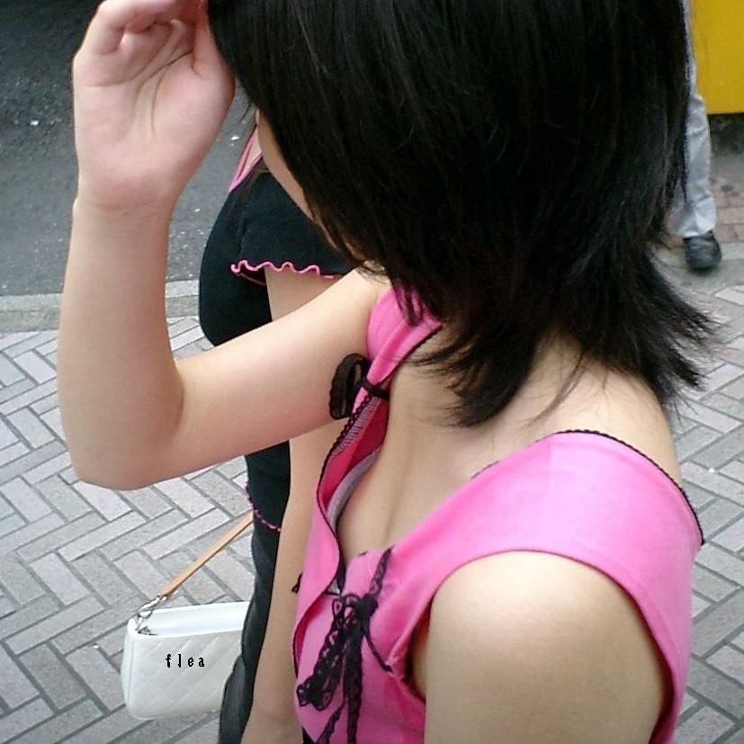 女子小学生 乳首 横ちら