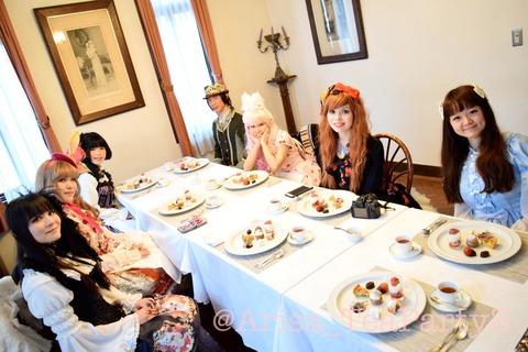 秘密の国際お茶会♪