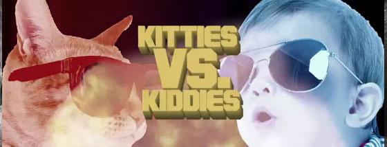 猫vs子供の仁義なき戦い