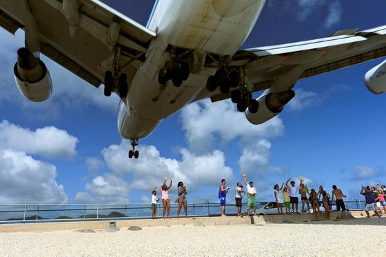 マホビーチの空港7