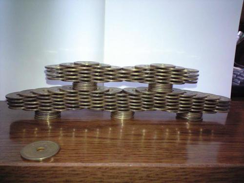 脅威のコイン積立1