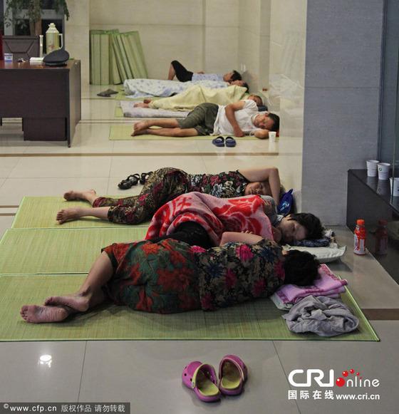 中国の避暑方法が凄い4