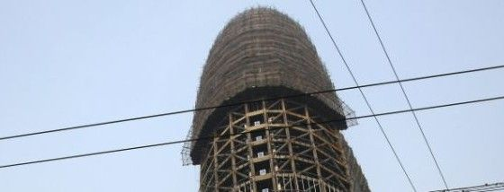 中国の巨大な建造物
