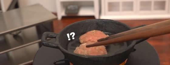 ミニチュア調理器具でシェフが素晴らしい本格料理を作るけど