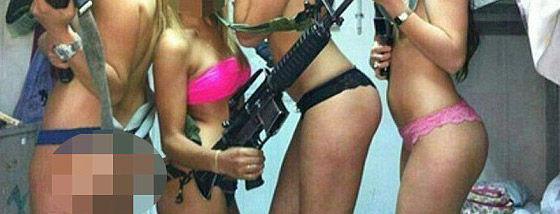 イスラエルの美人兵士