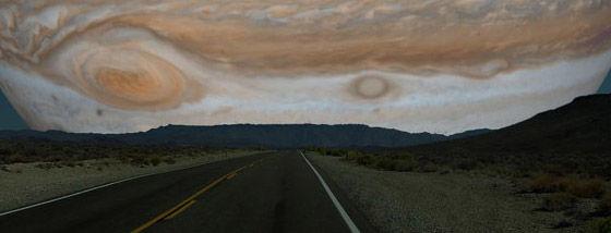 もし他の惑星が月と同じ距離にあったら