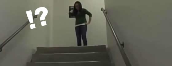 無限階段の謎を解け!!