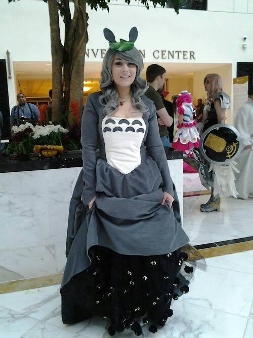 トトロのドレスのスカート1