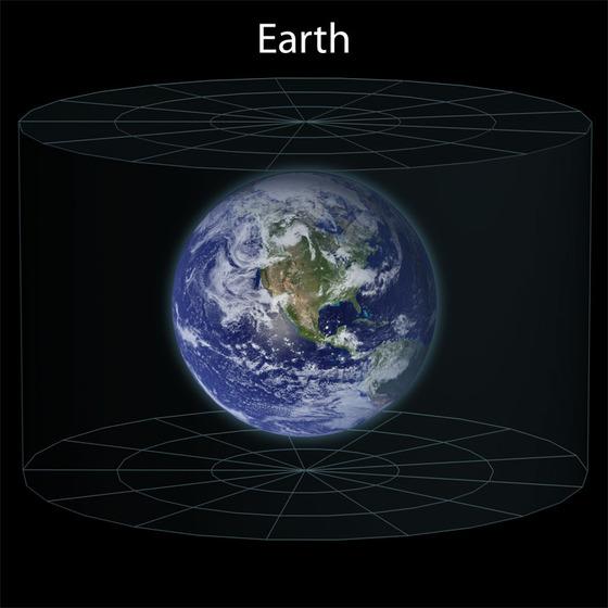 観測可能な宇宙をサイズ比較してみる1