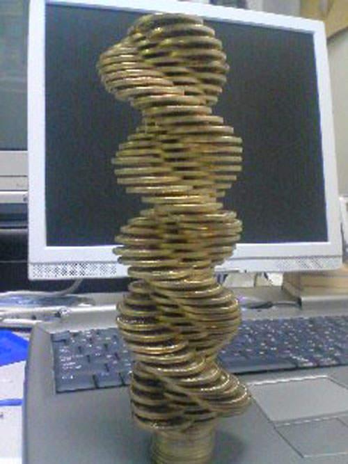 脅威のコイン積立4
