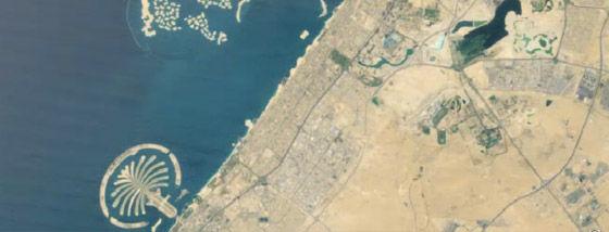 衛星から見た地球表面上の過去28年間の変遷