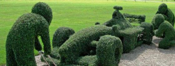 海外の植木アート