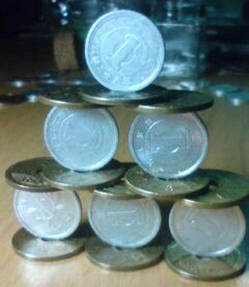 脅威のコイン積立8