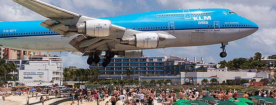 マホビーチの空港