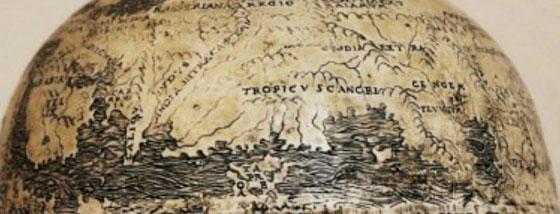 アメリカ大陸を描いている最古の地球後・・・かも!1