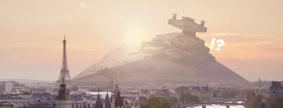 スターウォーズに登場する乗り物が現実に墜落していたら