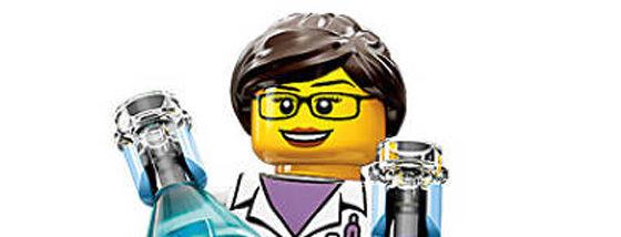 レゴの最初の女性科学者1