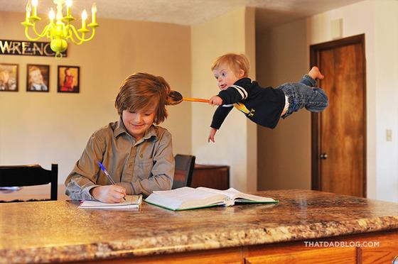 赤ちゃんが空を飛ぶ10