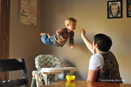 赤ちゃんが空を飛ぶ2