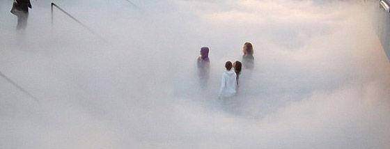 雲の中へ疑似体験