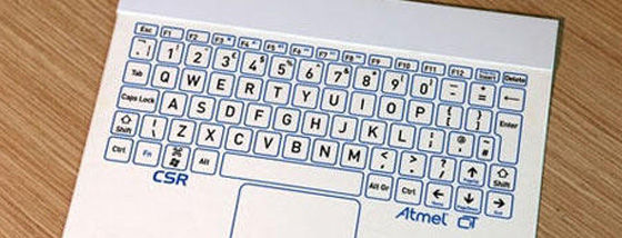 世界最薄のワイヤレスキーボード