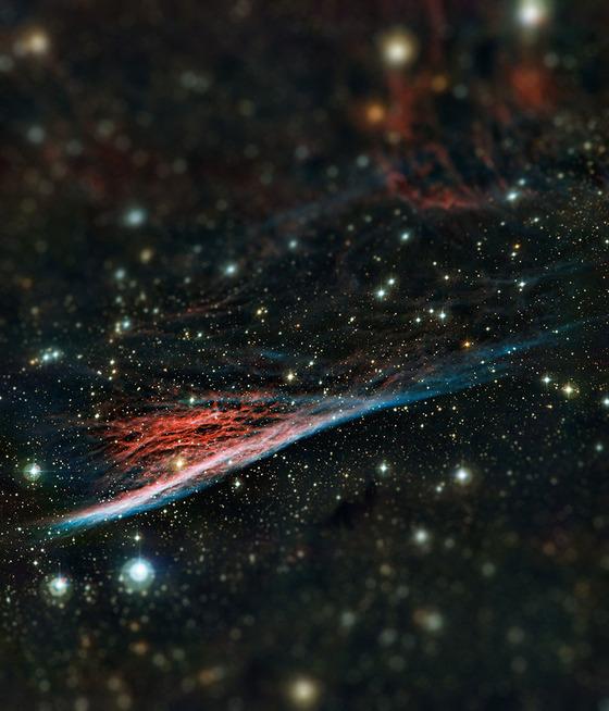 宇宙をミニチュア風の画像にしてみると6