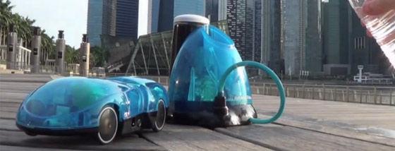 水素燃料電池のラジコンカー