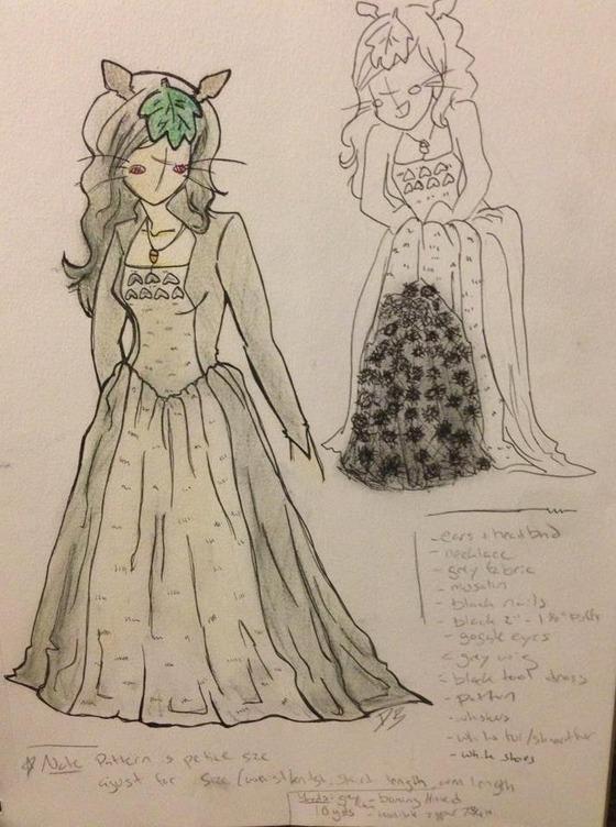 トトロのドレスのスカート10