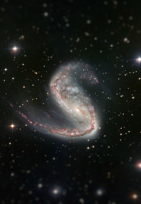 宇宙をミニチュア風の画像にしてみると4