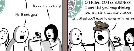 99%の人達のコーヒーを評価しかたはこう
