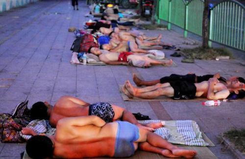 中国の避暑方法が凄い12