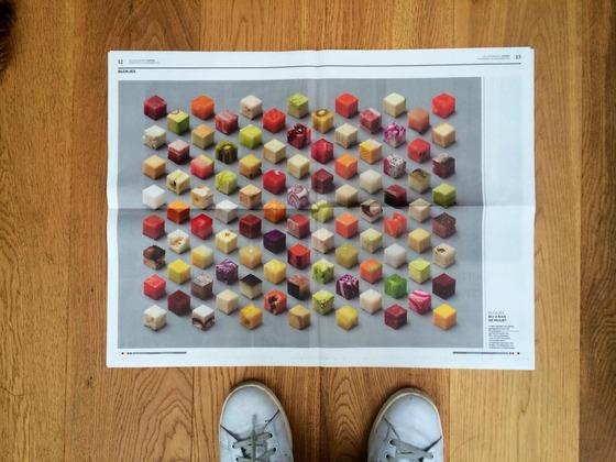 5センチの立方体5