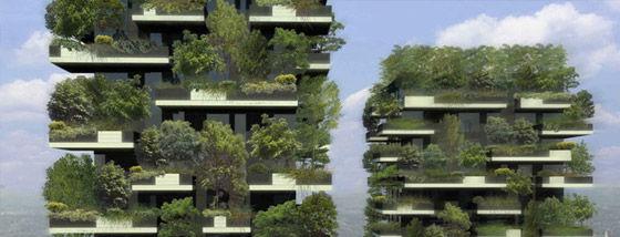 世界初のタワー型の森がミラノにお目見え予定