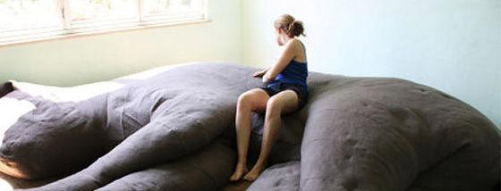 で、でかい!!巨大過ぎる猫ソファー