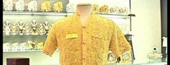 金製のシャツa