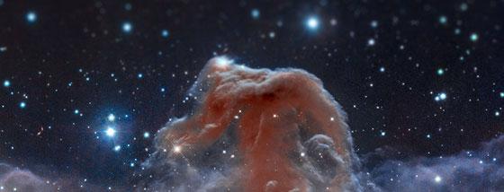 宇宙をミニチュア風の画像にしてみると